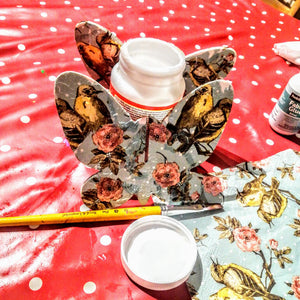 Decoupage Butterfly Craft Kit