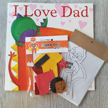 children's craft kits - I love dad fathers day kit
