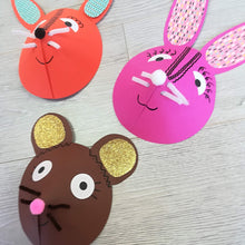 Children's craft workshop - woodland animals