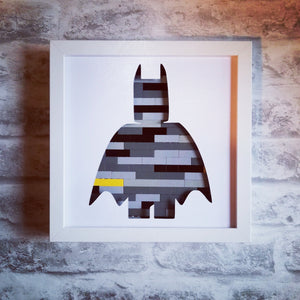 Batman Lego Silhouette Frame Craft Kit