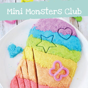 Kenetic Sand  mini monsters club