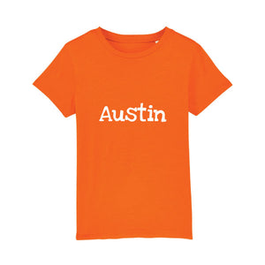 Children's orange T-shirt