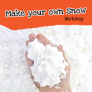 Make your own snow Children's workshop