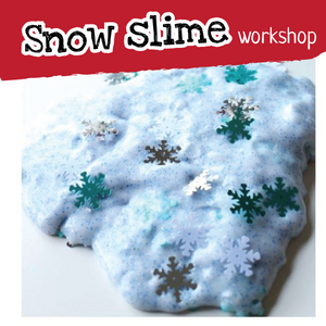 Christmas slime workshop