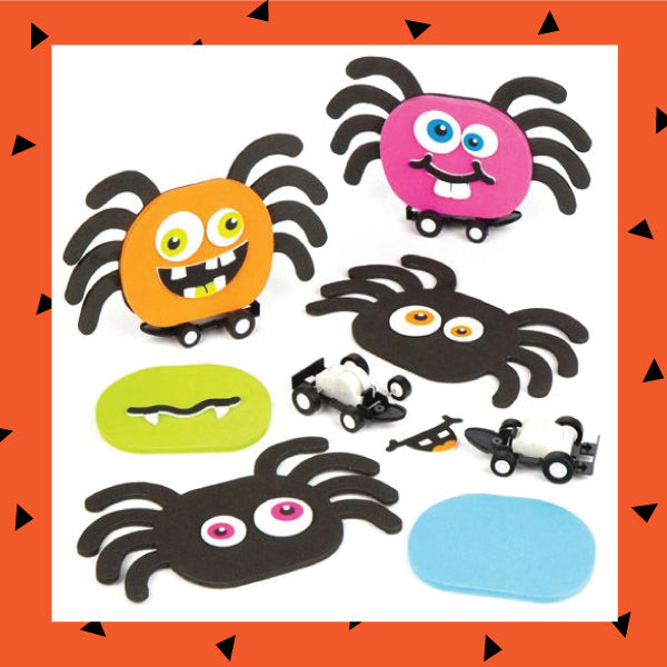 Halloween Spider Racer Children's Craft Kit
