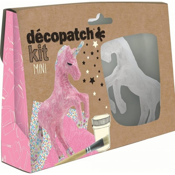 Decopatch mini Unicorn Craft Kit