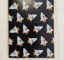 Childrens space rocket scrap book