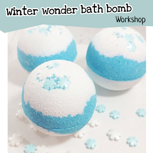 Winter wonder bath bomb Workshop - Sat 12th Jan