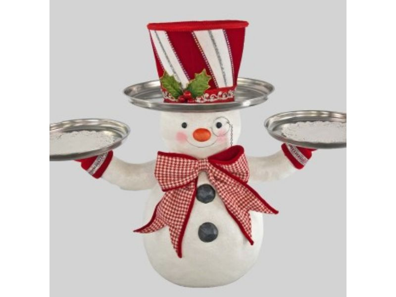 Snowman Treats Holder