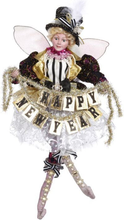 19'' Medium Celebrate New Year Fairy by Mark Roberts 2020