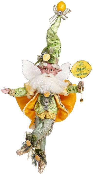 "11"" Small Lemon Zest Fairy by Mark Roberts Spring 2021"
