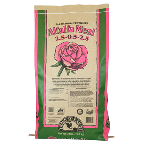 DOWN TO EARTH ALFALFA MEAL 2.5-.05-2.5 25lb bag