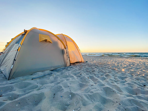 beach camping tips for beginners