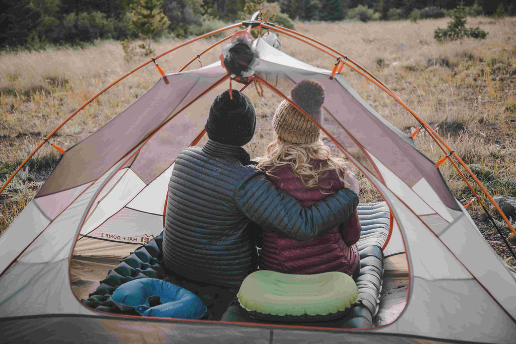 Valentine's Day Camping