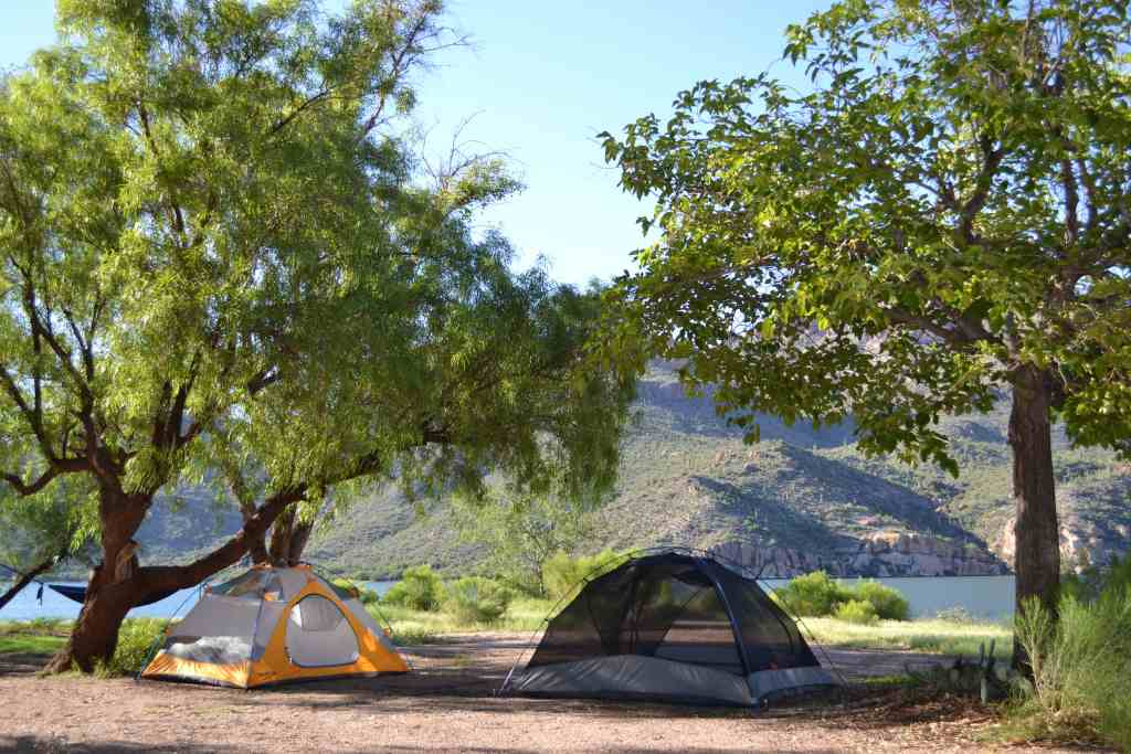 How to find a good camping spots