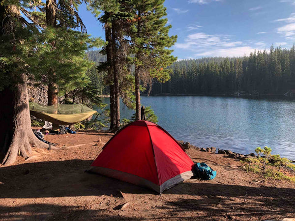 camping on St. Patrick's Day