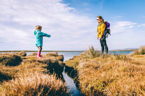 benefits of hiking with children