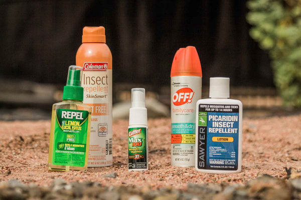 camping essentials insect repellant