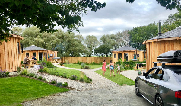 Glamping at East Thorne - Cornwall