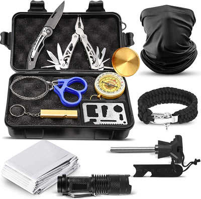 12pc Outdoor Survival Kits