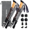 2pc TREK-Z Trekking Poles, Cork-Handle