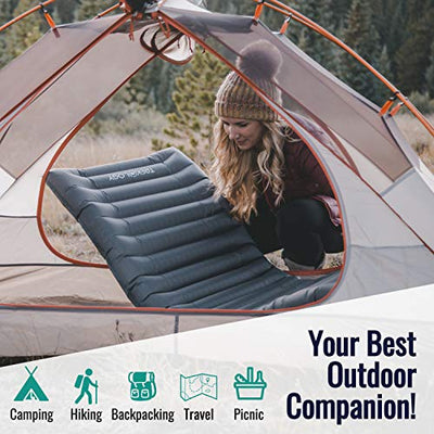 UL80 Inflatable Sleeping Pad for Camping