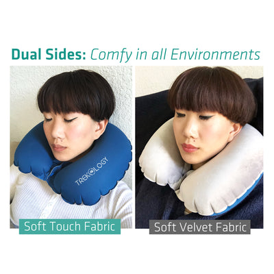Inflatable Neck Airplane Travel Pillow