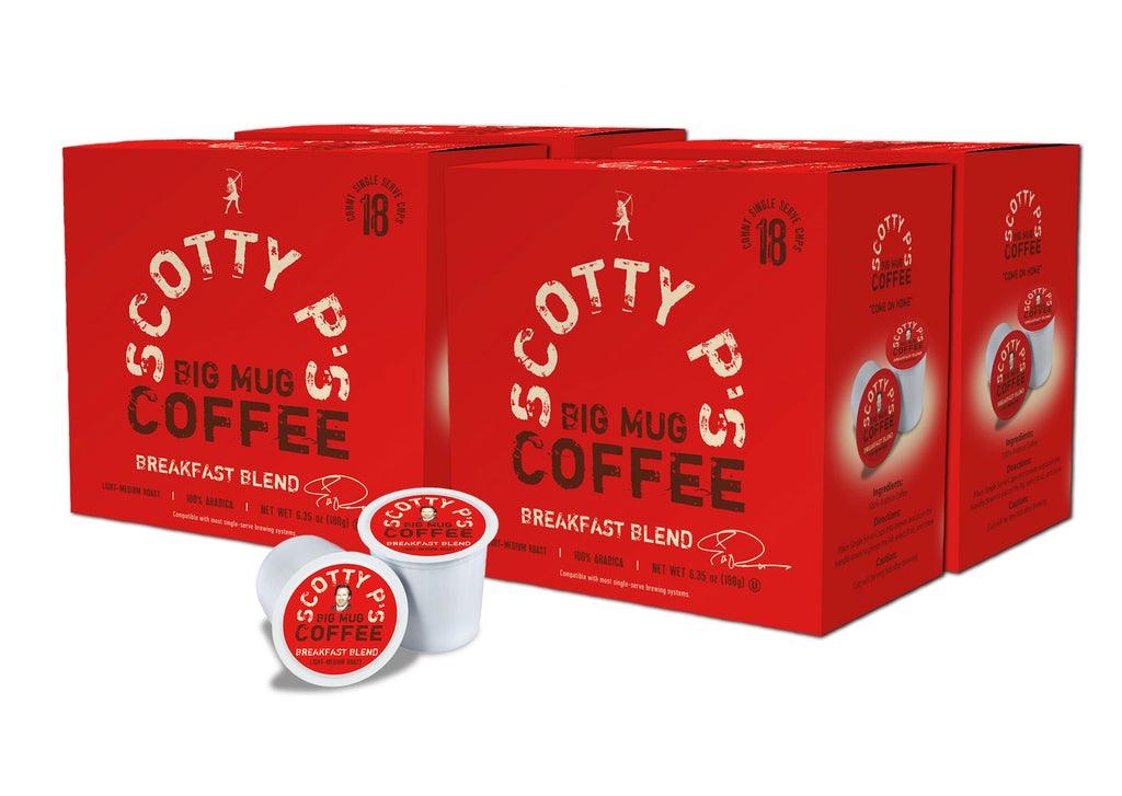 Scotty P's Big Mug Coffee One Year Anniversary