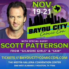 Scott Patterson (Luke Danes of Gilmore Girls) appearing at Bayou City Comic Con in Houston, TX