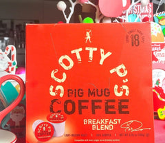 Scotty P's Big Mug Coffee Breakfast Blend KCups Blogger REview
