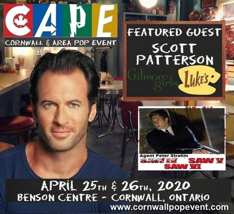 Scott Patterson, Luke Danes appears at CAPE Convention - Cornwall & Area Pop Event
