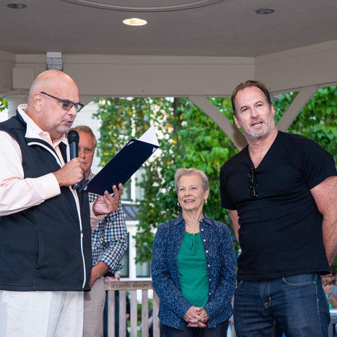 Scott Patterson discusses growing up in Haddonfield, NJ