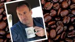 Scott Patterson discusses new product launch at Scotty P's Big Mug Coffee