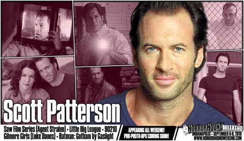 'Gilmore Girls' Scott Patterson (Luke Danes) offers coffee talk to weekend HorrorHound convention goers