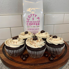 Cupcakes made with Scott Patterson's Scotty P's Big Mug Coffee