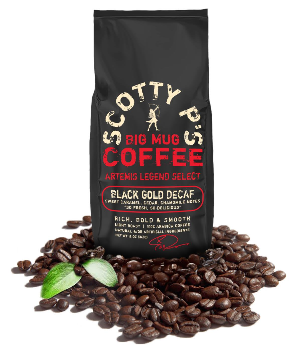 BLACK GOLD DECAF WHOLE BEAN - 12 oz/2 lb/5 lb bags starting at