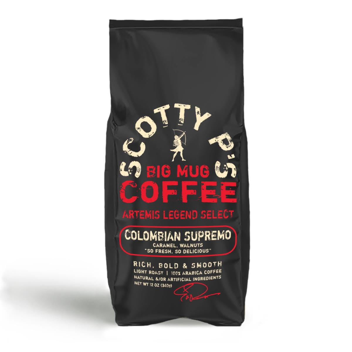 COLOMBIAN SUPREMO GROUND - 12 oz/2 lb/5 lb bags starting at