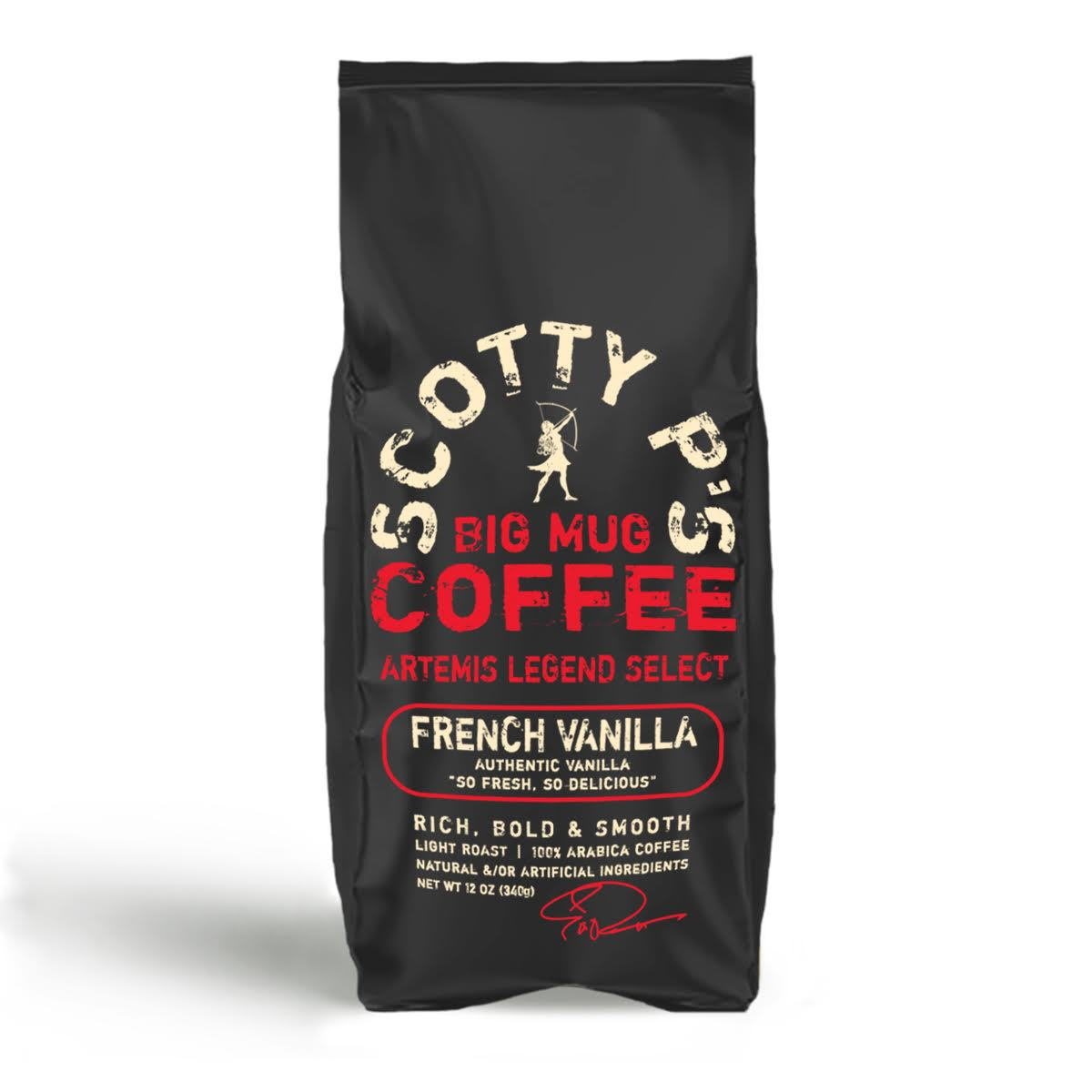 FRENCH VANILLA GROUND - 12 oz/2 lb/5 lb bags starting at