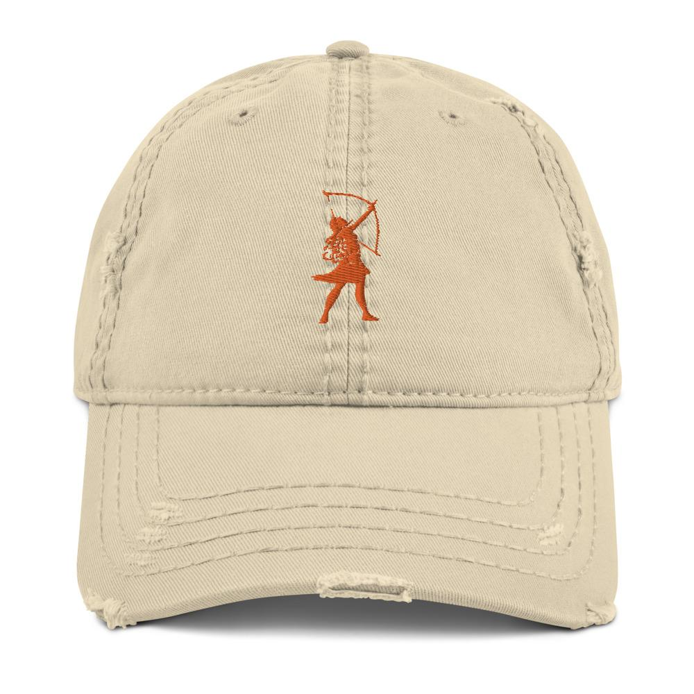 Artemis Embroidered Logo Distressed Hat- Available in 4 colors