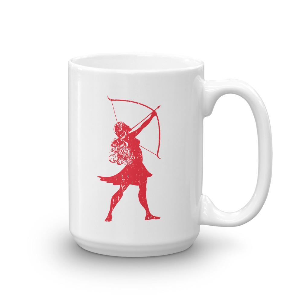 Scotty P's Artemis Red Logo Mug - 15 oz.