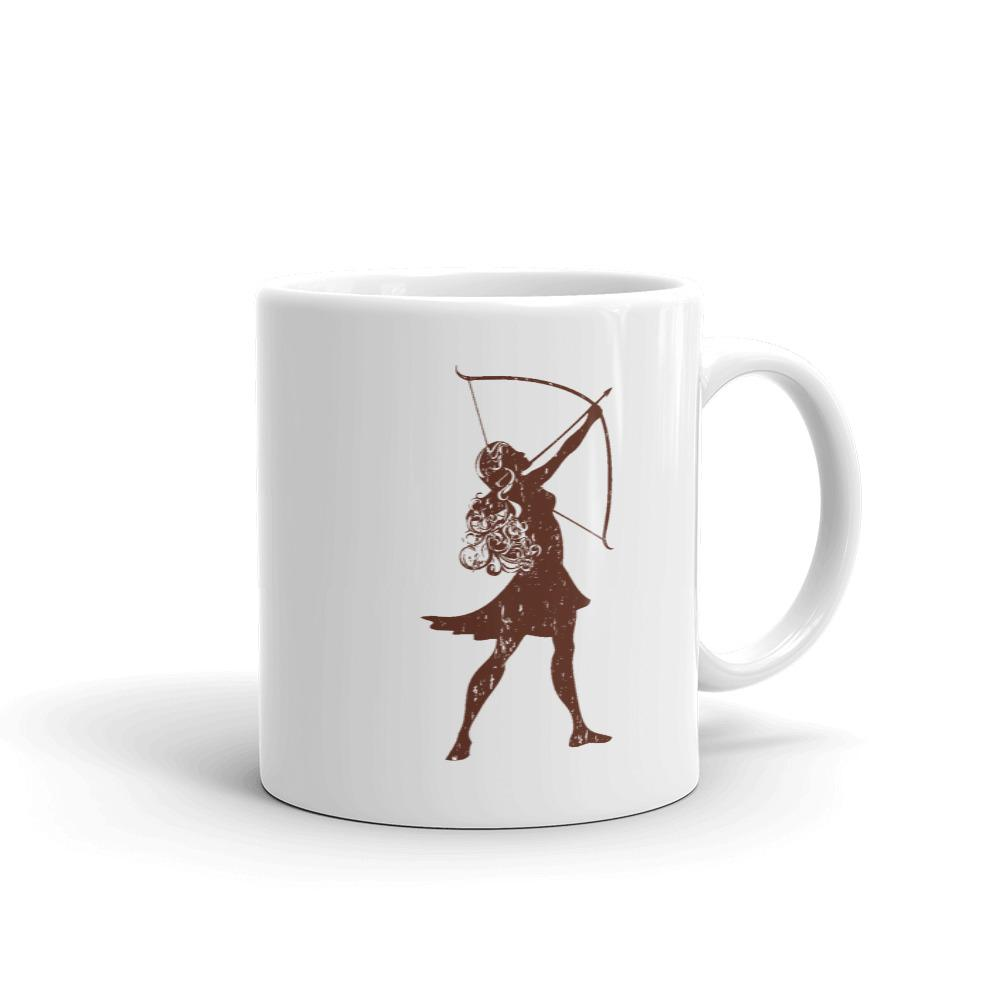 Scotty P's Artemis Brown Logo Mug - 11 oz.