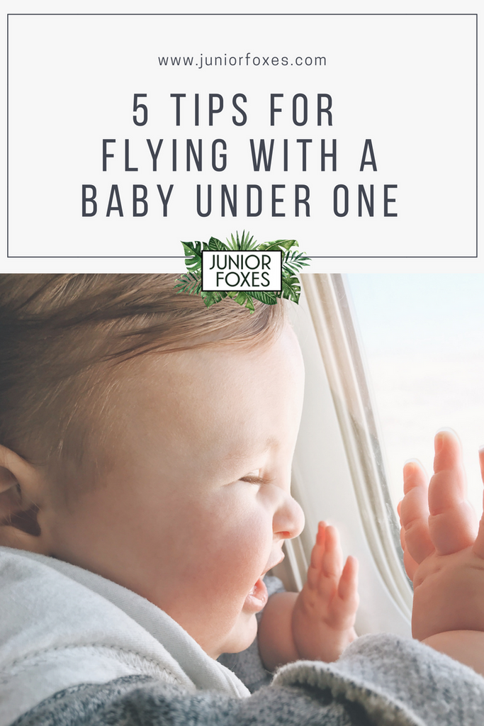 5 Tips for Flying With a Baby Under One