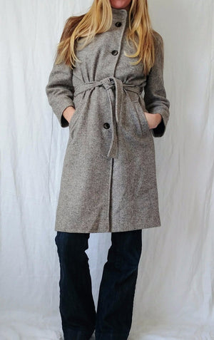 Vintage Tweed Trench