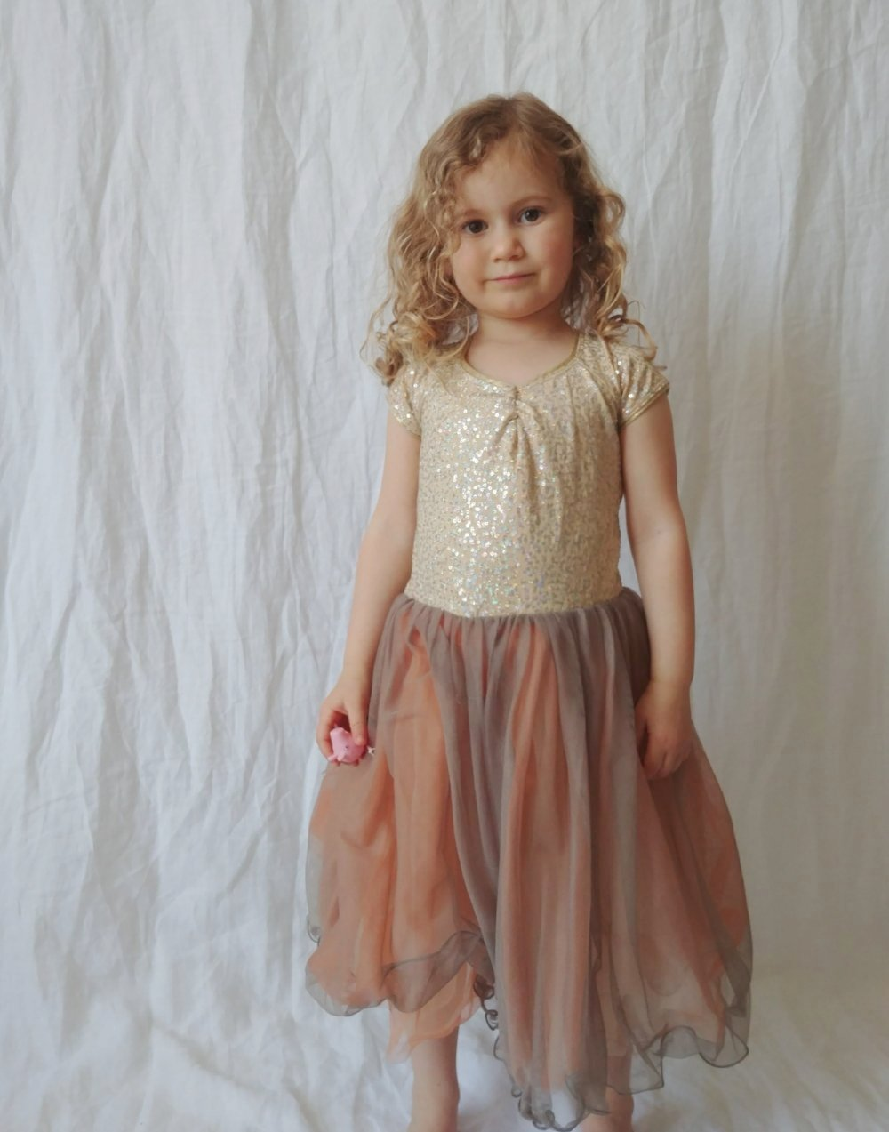 Peaches & Cream Tutu Dress