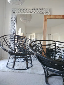 Black Papasan Chair Frames