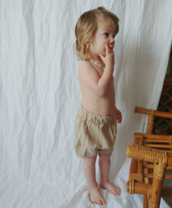 Natural Muslin Bloomer Short