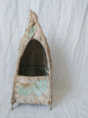 Vintage Play Hut - Hand Painted