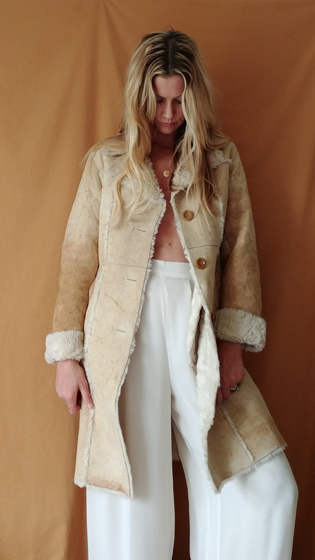 Vintage Shearling Coat