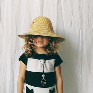 Child's Woven Safari Hat