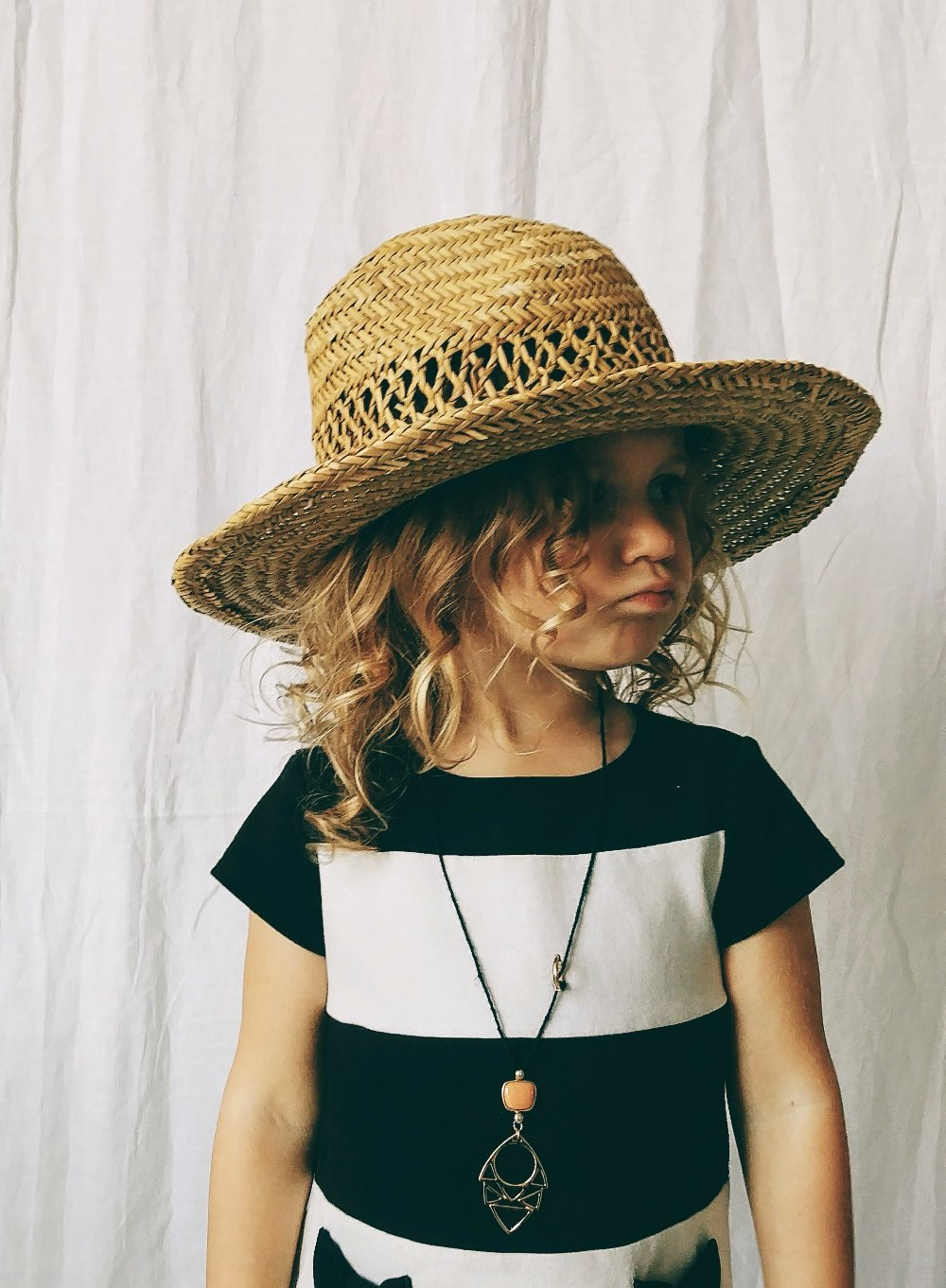 Child's Woven Straw Hat
